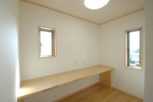 2F寝室・書斎スペース
