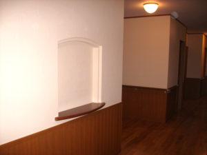 廊下・飾り棚