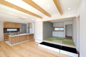 リビング・和室・キッチン